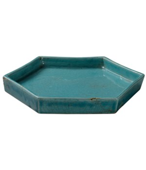 Small Porto Blue Tray