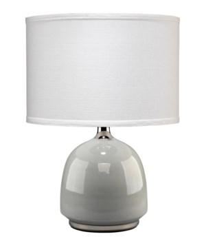 Carlton Grey Table Lamp