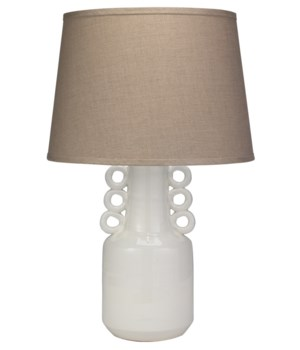 Circus White Table Lamp