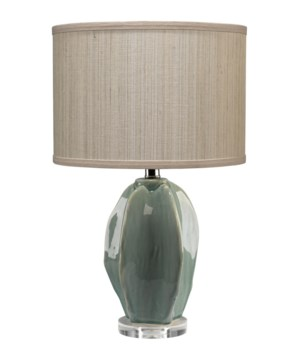 Hermosa Teal Table Lamp