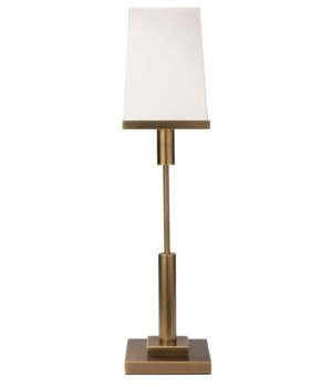 Jud Antique Brass Table Lamp