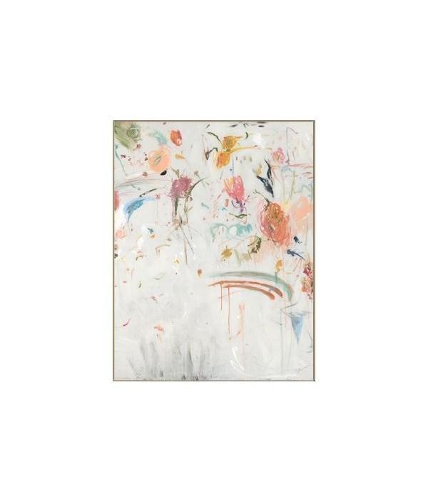 40x52 Pale Garden II, Frame 36PL658141