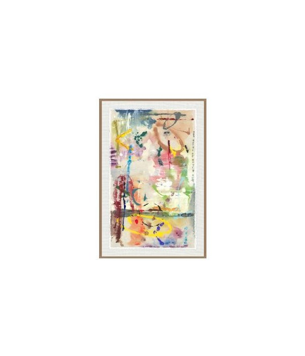 47x70 Dream Candy I, Glass Frame, Signature