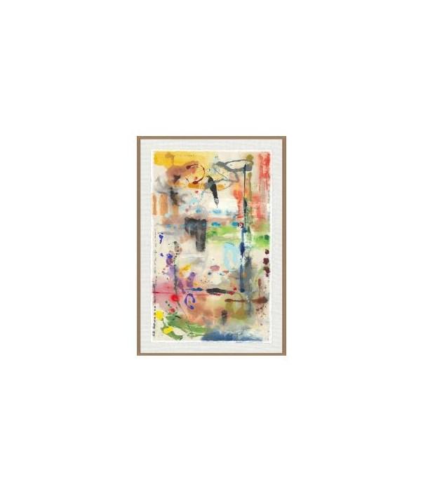 47x70 Dream Candy II, Glass Frame, Signature