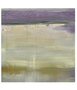 36x36 Lavender Fields II, Frame 36P1708