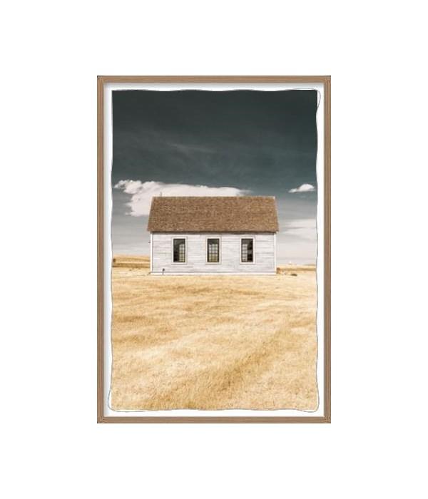 26.75x41.75 Prairie Church I, Frame 36PUP3456, Signature