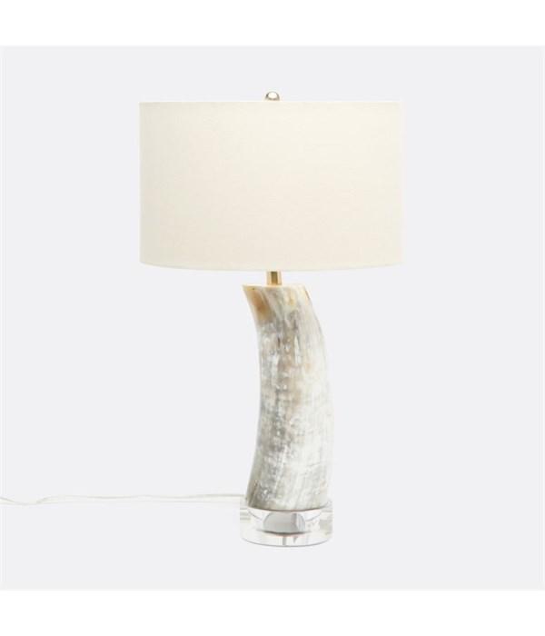 Aiden Natural Horn Lamp