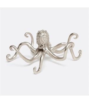 Paul Pewter Brass Octopus Object