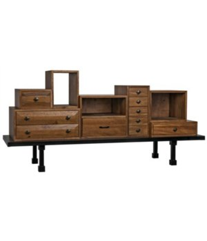 Casseta Sideboard, Dark Walnut