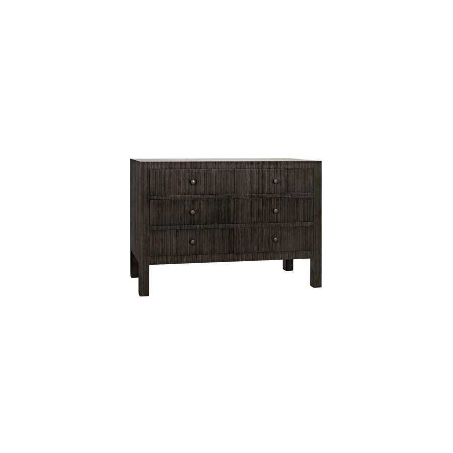 Conrad 6 Drawer Dresser, Pale