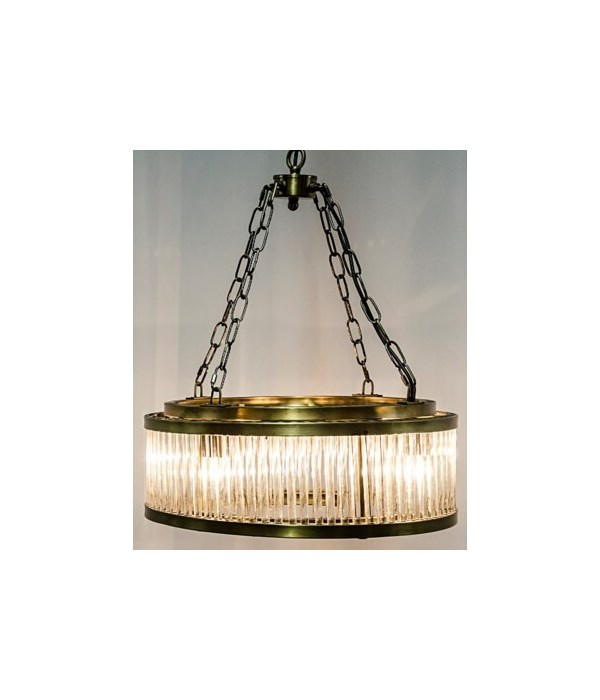 Petronas Chandelier, Antique Brass