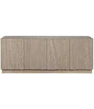 Zahara Sideboard, Gray Wash Wax