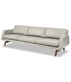 Nash 3 Seat Sofa, RC-3-10 Gr III, Natural Walnut