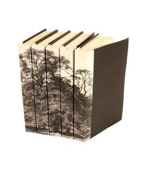 Image Collection, Black & White Tree, Set of 5