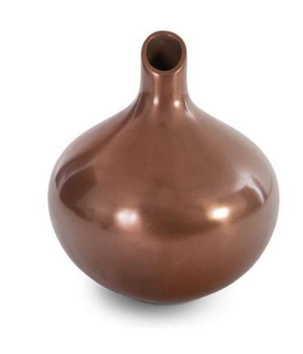 Katha Vase, Copper Top Coat
