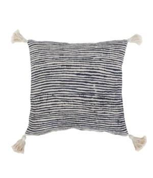 Kai Hand Woven Pillow, Indigo