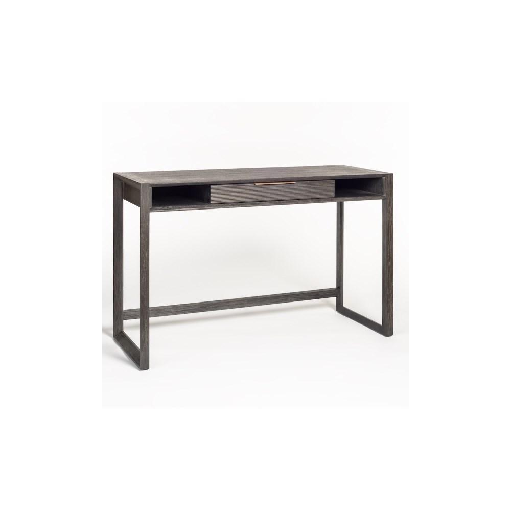 Riley Desk, Brushed Carbon