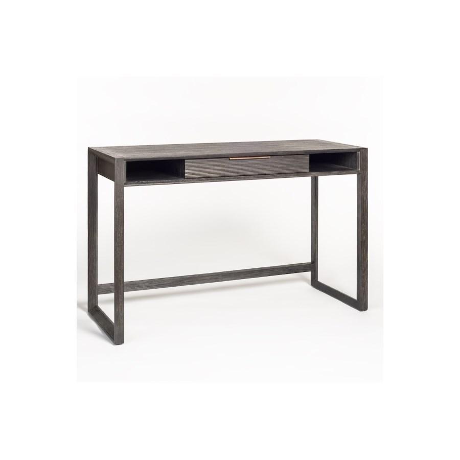 Riley Desk, Brushed Smoke