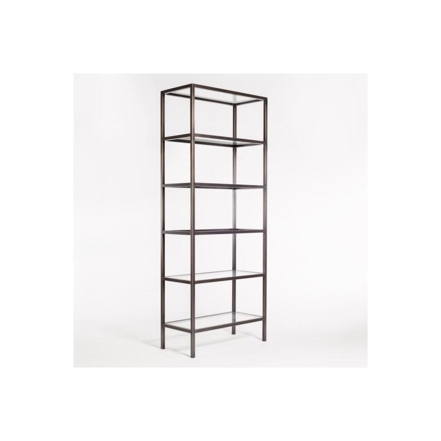Sawyer Bookshelf, Gunmetal