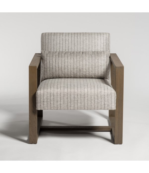 Soho Occasional Chair, Steel Twill, Driftwood