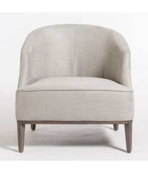 Jameson Occasional Chair, Subtle Haze, Distressed Beechwood
