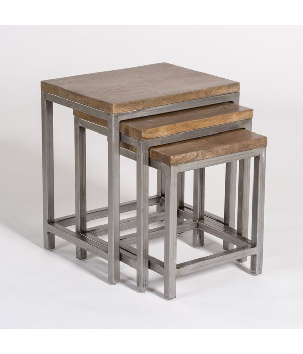 Grammercy Nesting Tables, Set of 3