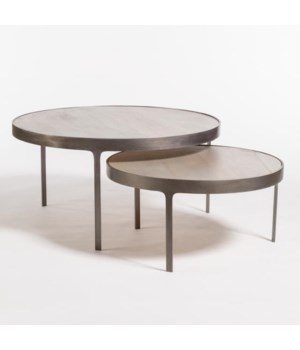 Dover Nesting Coffee Tables, Set of 2