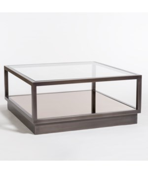 Warren Coffee Table, Gunmetal