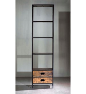 "Milano Two Drawer 22"" Bookshelves"