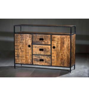 Milano 2 Cabinet, 3 Drawer Dresser
