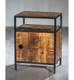 Milano Single Cabinet Side Table