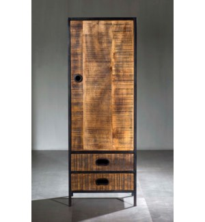 Milano Single Cabinet, 2 Drawer Cabinet