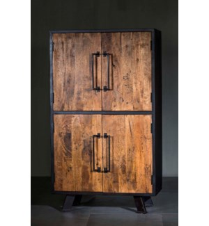 Roma Solid Wood Double Armoire