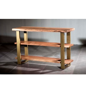 Artisian Triple Shelf Console
