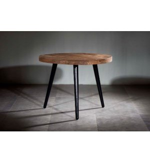 Wooden Iron Dining Table Tripod Stand