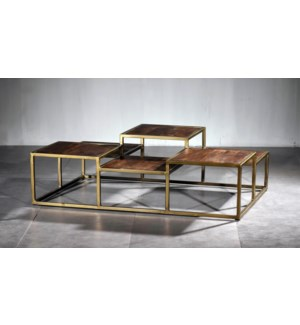 6 Level Cocktail Table