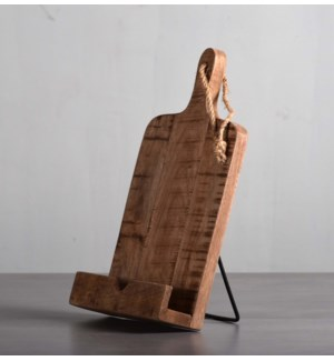 Cook Book Stand -Wood