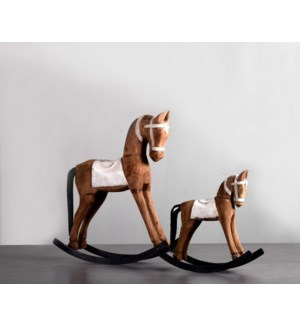 Wooden Rocking Horse - Small