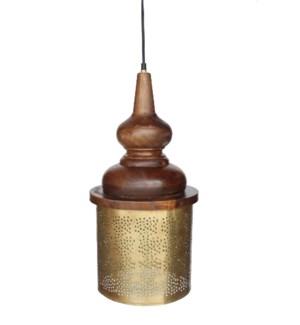 Celestial Brass Pendant Large