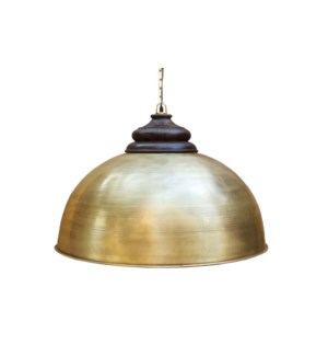 Dom Antique Brass Pendant