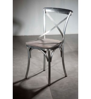 X Back Dining Armless Chair