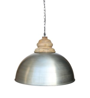 Dom Antique Zinc Pendant