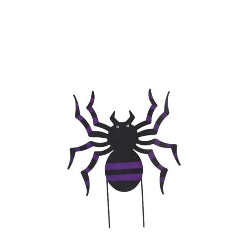 TIN SPIDER YARD ART CS. PK.: 12