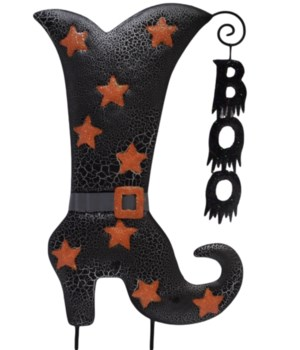 TIN WITCH BOO BOOT CS. PK.: 12