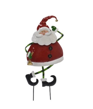 FAT SANTA YARD ART CS. PK.: 6