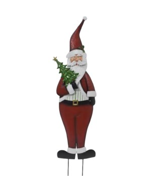 OLD WORLD SANTA YARD ART CS. PK.: 6