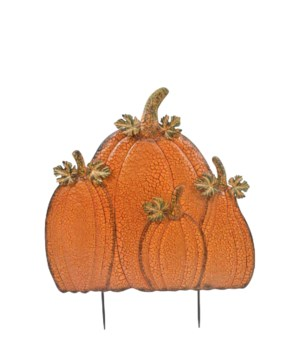TIN QUAD PUMPKIN PILE CS. PK.: 6