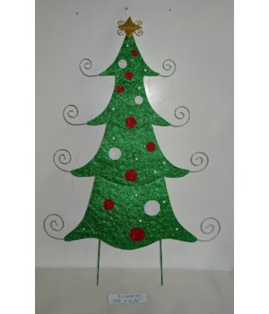 TIN TREE YARD ART CS. PK.: 6
