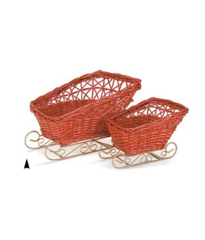 29/2188R S/2 RED WILLOW SLEIGHS CS. PK.: 8