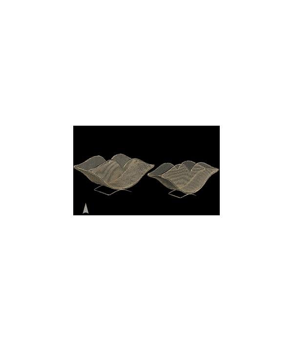 29/5211 S/2 WIRE MESH LIPS BASKETS CS. PK.: 20